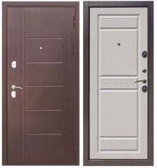 Дверь Цитадель Троя антик беленый дуб