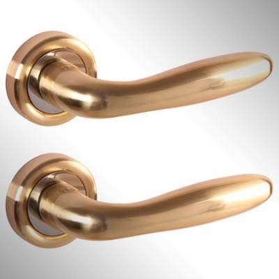 Ручка дверная Aron матовое золото