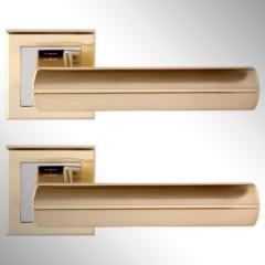 Ручка дверная Baza матовое золото