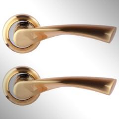Ручка дверная Caen матовое золото