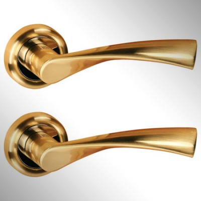 Ручка дверная Caen золото