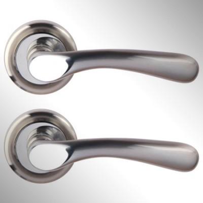Ручка дверная Koro матовый никель