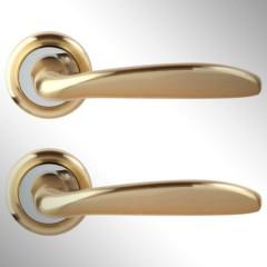 Ручка дверная Rosa матовое золото