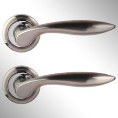 Ручка дверная Vero матовый никель