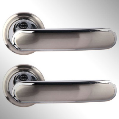Ручка дверная Wuhu матовый никель