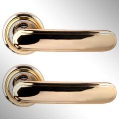 Ручка дверная Wuhu золото