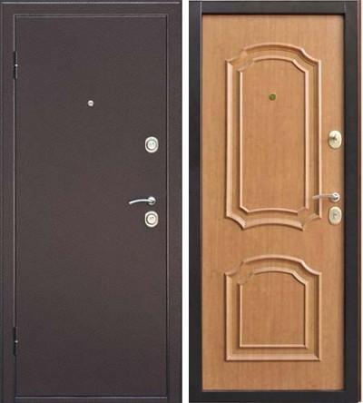 Дверь Интерио светлый орех