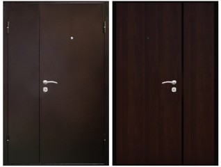 Двустворчатая дверь Снедо 1200 венге