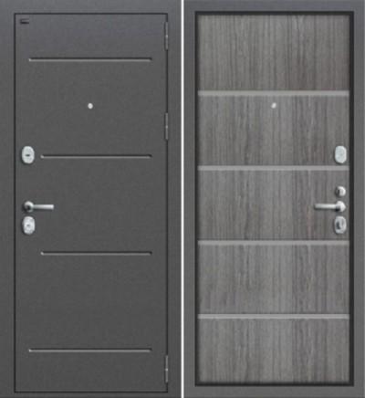 Дверь Groff T2-204 серый дуб