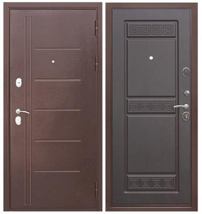Дверь Цитадель Троя антик Венге