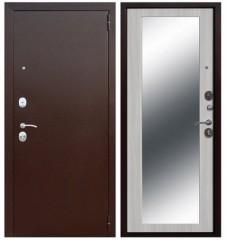 Дверь Цитадель Царское зеркало MAXI беленый дуб