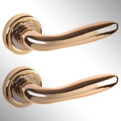 Ручка дверная Aron золото