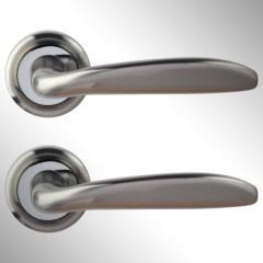 Ручка дверная Rosa матовый никель
