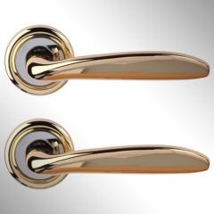 Ручка дверная Rosa золото