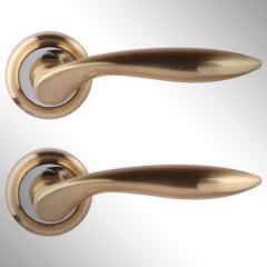 Ручка дверная Vero матовое золото