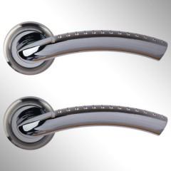 Ручка дверная Yola матовый никель