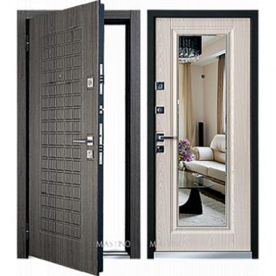Дверь Mastino Marke светлая с зеркалом