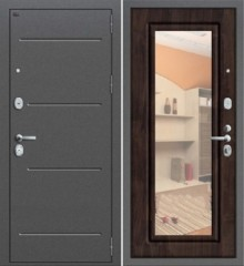 Дверь Groff Р2-206 темная вишня зеркало