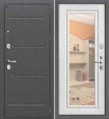 Дверь Groff Р2-206 беленый дуб зеркало